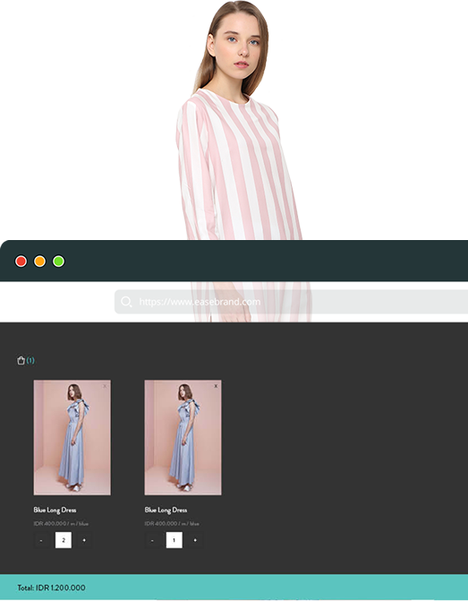 Ease Brand add to Cart