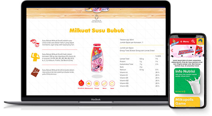Milkuat Official Site